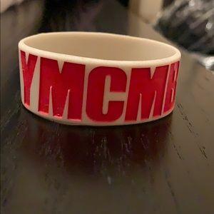 YMCMB rubber bracelet (Unisex)